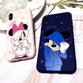 【SZ15】iphone 8plus 保護殼 衛衣米奇米妮糖果TPU iphone 11Promax 手機殼 i7 6s xs xr 手機殼 ixs max 手機殼
