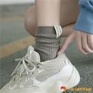 長襪子女中筒襪秋冬季百搭長襪純棉高幫日系堆堆襪【小獅子】