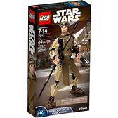 75113【LEGO 樂高積木】星際大戰 Star Wars-組裝戰士 Rey