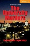 二手書博民逛書店 《The University Murders Level 4》 R2Y ISBN:052153660X│Cambridge University Press