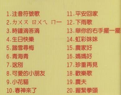 幼稚園童歌 精選集 4 CD(購潮8)
