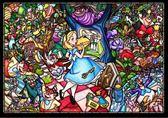 【拼圖總動員 PUZZLE STORY】冒險之旅 日本進口拼圖/Tenyo/迪士尼/愛麗絲夢遊仙境/1000P/環保塑膠