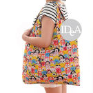 IDEA 可愛卡通人物折疊式環保購物袋 迪士尼 三麗鷗 tusm 環保袋 米奇 收納袋 手提袋
