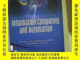 二手書博民逛書店infornation罕見computing and autom