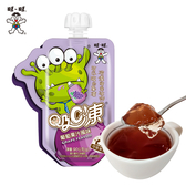 【旺旺官方旗艦店】吸C凍葡萄果汁風味(90G*6入)