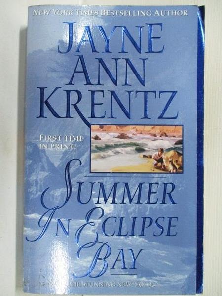 【書寶二手書T9/原文小說_BL5】Summer in Eclipse Bay_Jayne Ann Krentz