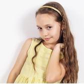 兒童髮箍 韓國亮面 亮片 5MM寬頻齒防滑 頭扣 頭箍小學生百搭 歐美 88170