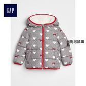 Gap x Disney女嬰幼童 迪士尼系列米妮鋪棉夾克 337920-米妮老鼠圖案