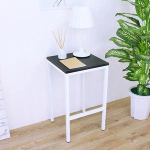 【頂堅】木製椅面(鋼管腳)吧台椅/餐椅/高腳椅/洽談椅-四色可選黑色