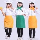 幼稚園小廚師演出服角色扮演親子服裝兒童攝影服少兒廚師職業套裝大宅女韓國館