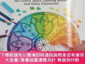 二手書博民逛書店New罕見Guide to Coloring for Crafts, Adult Coloring Books,
