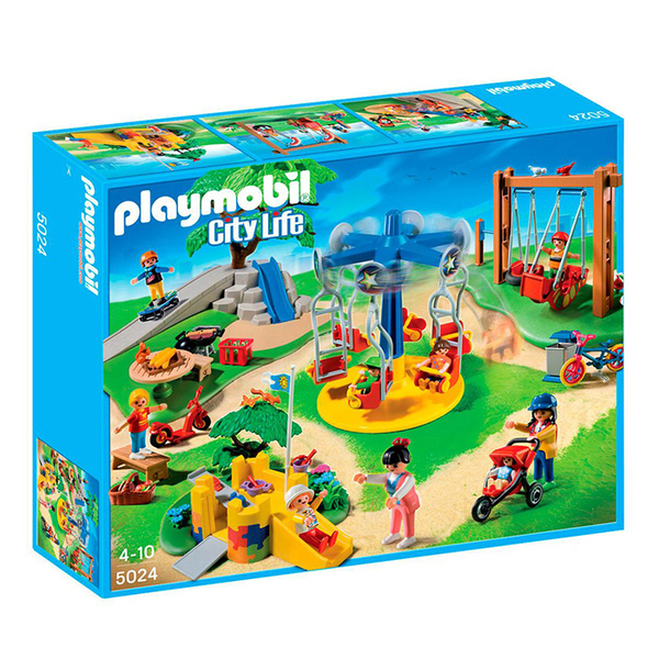Playmobil 摩比 CITY 5024 兒童遊樂場 【鯊玩具Toy Shark】