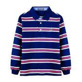 『小鱷魚童裝』條紋POLO衫(08號~18號)532109