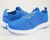 【K-SWISS】Axcel Trainer 輕量訓練鞋-男-藍/白05403-434