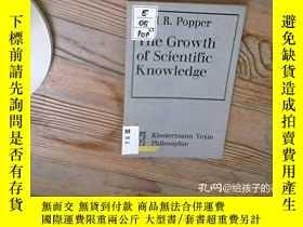二手書博民逛書店Truth,罕見Rationality, And The Growth Of Scientific Knowled