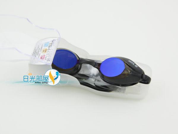 *日光部屋* Nile (公司貨)/ NGL-1109M-BSMK 鍍鏡面/競泳/運動泳鏡