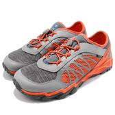 Merrell 戶外鞋 Hydro Run 2.0 運動鞋 越野 登山 橘 灰 休閒鞋 女鞋 大童鞋【PUMP306】 MY56505