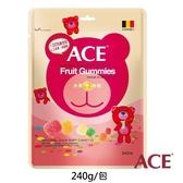 ACE-水果Q軟糖量販包240公克(袋) 大樹