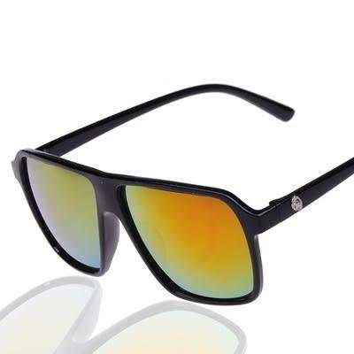 太陽眼鏡-日系風骷顱頭鏡腿男女偏光墨鏡10色73en17【巴黎精品】