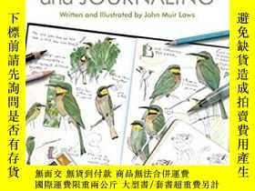 二手書博民逛書店The罕見Laws Guide to Nature Drawing and JournalingY255174