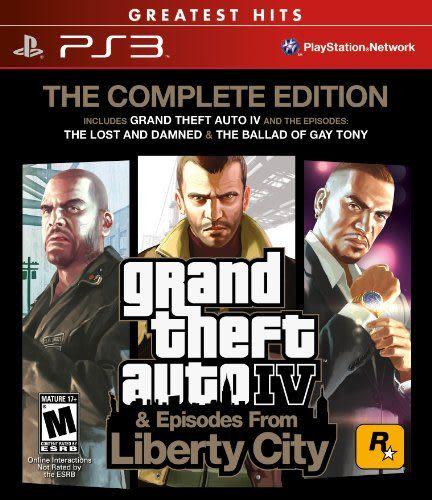 PS3 Grand Theft Auto IV: Complete 俠盜獵車手4:完全版(美版代購)