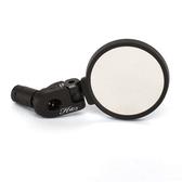*阿亮單車* Hafny自行車平面後視鏡(HF-MR083),角度可360度調整,黑色《B26-039》