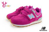 New Balance 574 小童運動鞋 麂皮復古慢跑鞋 N8596#粉紅◆OSOME奧森鞋業