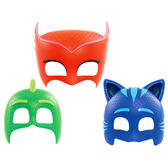 【睡衣小英雄 PJmasks】變裝面具-貓小子/飛壁俠/貓頭鷹女PJ24590