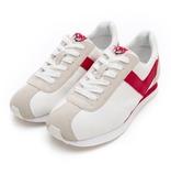 PONY ROADRUNNER女款白紅復古慢跑鞋-NO.92W1RR02RD