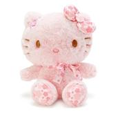 〔小禮堂〕Hello Kitty 絨毛玩偶娃娃《S.粉》玩具.擺飾.燦爛櫻花系列 4901610-20204