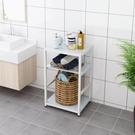衛生間置物架落地式家用多層收納架多功能夾縫防水浴室洗漱台小型 NMS 樂活生活館