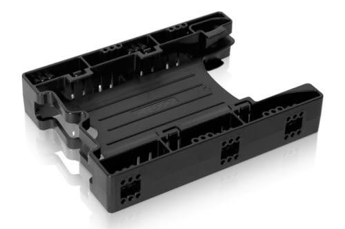 "ICY DOCK EZ-Fit Lite 無螺絲 雙2.5"" SSD/HDD 轉一3.5 裝置 硬碟轉接架 MB290SP-B"