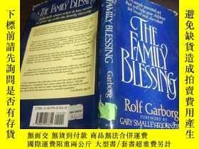 二手書博民逛書店英法德意等外文原版罕見THE FAMILY BLESSING 1990年 大32開硬精裝Y274511 Rol