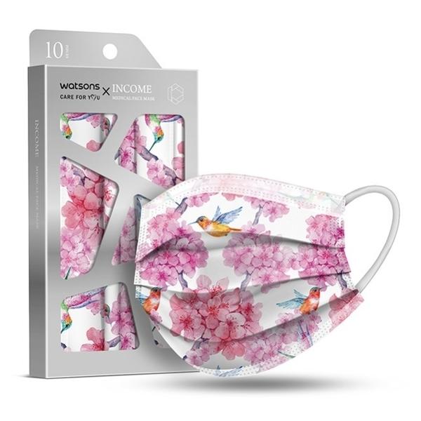 WSx銀康 醫療防護口罩-珍寵嬌花