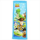 日本迪士尼玩具總動員毛巾長方巾40x110cm人物集合638851通販屋