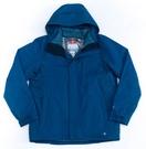Columbia 男 羽絨兩件式連帽外套 藍 UPM78840BL 【GO WILD】