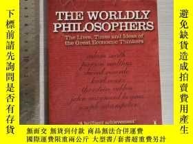 二手書博民逛書店The罕見worldly philosophers the li