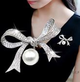 胸針 韓版蝴蝶結胸針別針女職業氣質簡約大氣大衣配飾飾品H0238