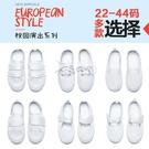 兒童小白鞋 兒童小白鞋白布鞋學生鞋幼兒園男童女童六一純白鞋帆布鞋表演鞋-Ballet朵朵