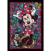 【日本進口拼圖】迪士尼 DISNEY-迪士尼迷你透明拼圖 米妮 266片 DSG-266-754