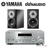 YAMAHA 山葉 R-N803 +Dynaudio Emit M20 書架音響組合【公司貨+免運】