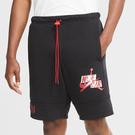 Nike Jordan Jumpman 男裝 短褲 休閒 棉褲 抽繩 口袋 黑【運動世界】CU2907-011