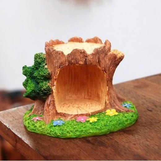 ⓒ森林樹洞小花綠地微景觀【B03001】