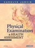 二手書博民逛書店 《Physical Examination & Health Assessment》 R2Y ISBN:0721697739│CarolynJarvisPhDAPNCNP