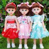會說話的智能對話芭芘洋娃娃女孩玩具仿真小學生單個公主套裝布WY《端午節好康88折》