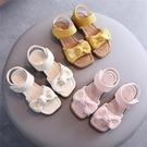 女童涼鞋 女童小雛菊涼鞋新款時尚夏季中大童公主鞋正韓軟底沙灘鞋-Ballet朵朵