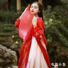 秋水漢服女學生中國風改良漢元素齊胸襦裙超仙日常裝夏季 FX4188 【毛菇小象】