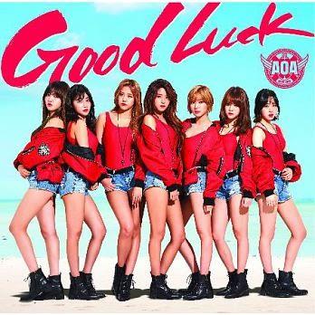 AOA Good Luck 內附寫真小卡盤 (購潮8)