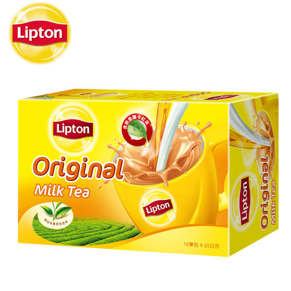 立頓奶茶粉原味盒裝 10 x 20g 聯合利華