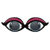 Yazbukey 紫眼皮墨鏡